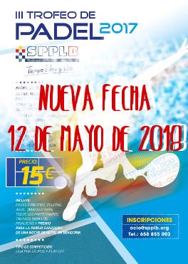 TROFEO DE PADEL 2018